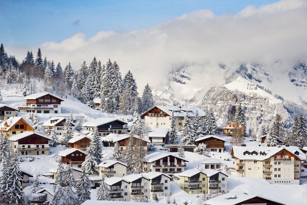 Дом в швейцарских альпах северный кипр цены