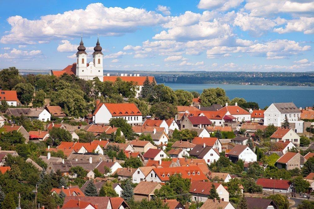 Красивый вид на город Венгрии