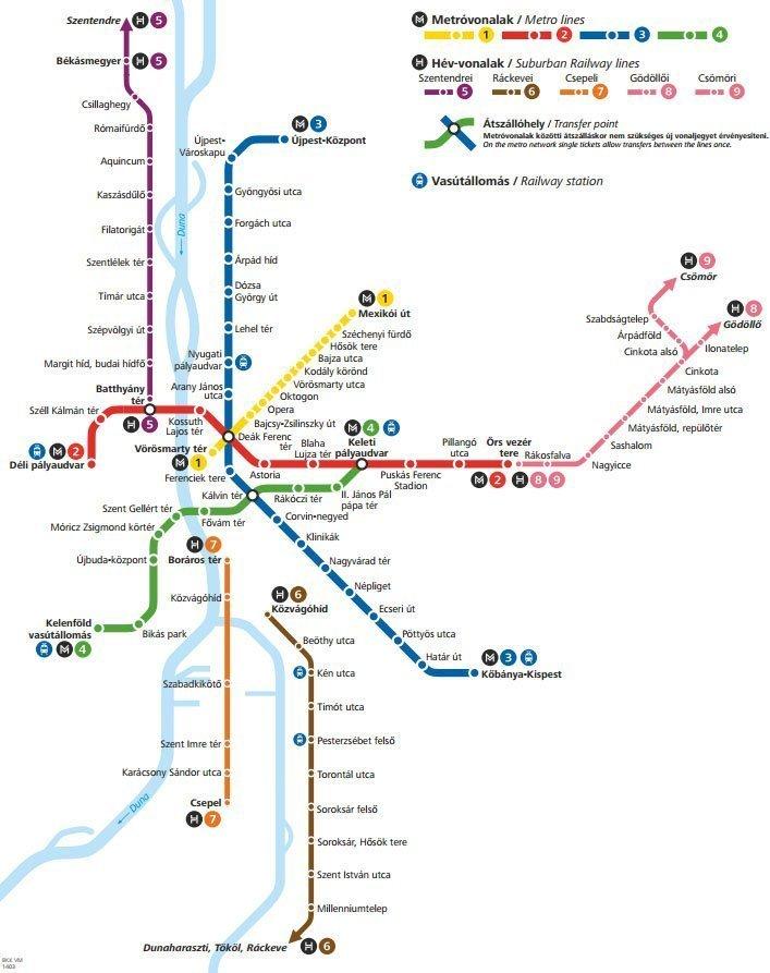 В Будапештском метро появились